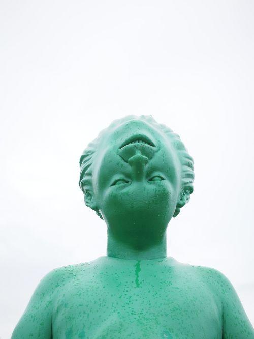 milžinas,vyras,žmogus,meno kūriniai,asmuo,žalias,menas,skulptūra,figūra,Westerland,riesen,milžinas žmogus,Martino debesis,keliautojas vėjo gigantė,skaičiai