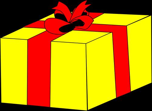 dovanos,dėžė,geltona,kartonas,pakavimas,objektas,siurprizas,lankas,juosta,pateikti,švesti,Vestuvės,proga,Dovanų dėžutė,gražus,nemokama vektorinė grafika