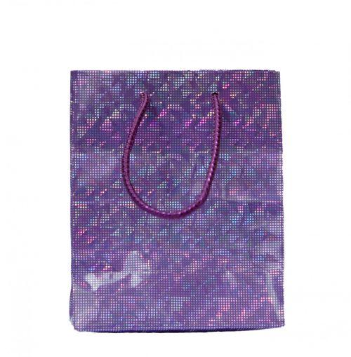 dovanos & nbsp, krepšys, maišas, popierius, sparkly, violetinė, izoliuotas, balta, fonas, nuotrauka, vaizdas, nešioti & nbsp, maišelį, dovanų krepšys violetinė