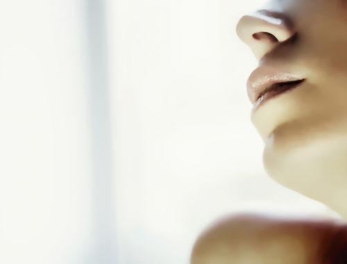 mergaitė,asmuo,portretas,lūpos
