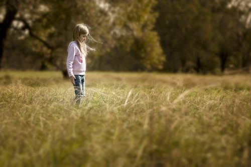 mergaitė,sepija,lauke,žolė,šviesos spindulys,saulės šviesa,jaunas,paniuręs,ryškumas,šviesti,saulės spindulys,medis,spindulys,parkas,gamta,šviesa
