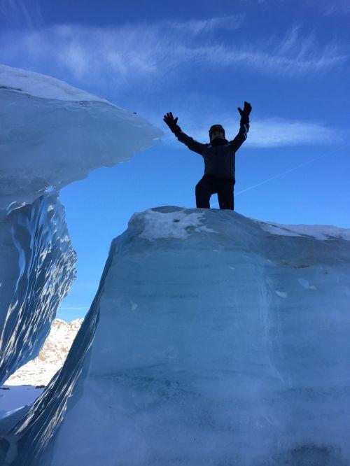 ledynas,austria,sniego kraštovaizdis,žiemą,Alpių,sniegas,slidinėjimo kurortas kaunertal ledynas,aukšti kalnai,didelis ledynas,snieguotas,ledinis