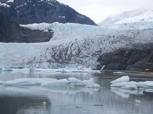 Ledynas, Ledas, Sniegas, Ledkalnis, Arktinė, Ledinis, Ledinis, Kalnas, Vaizdingas, Tirpimas, Atšilimas