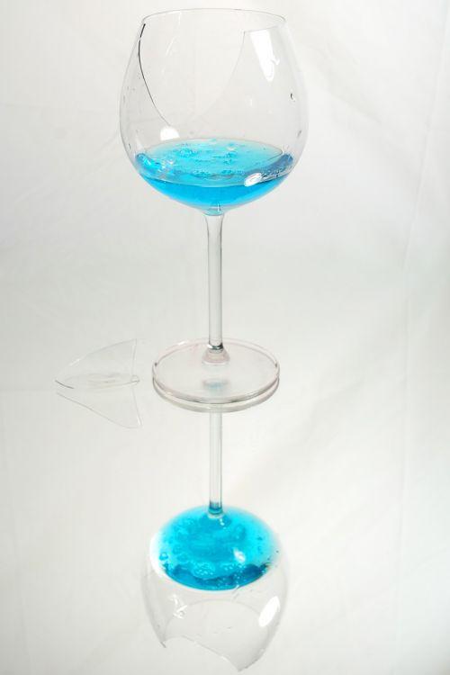 stiklas,mėlynas,pertrauka,sunaikintas,trapi