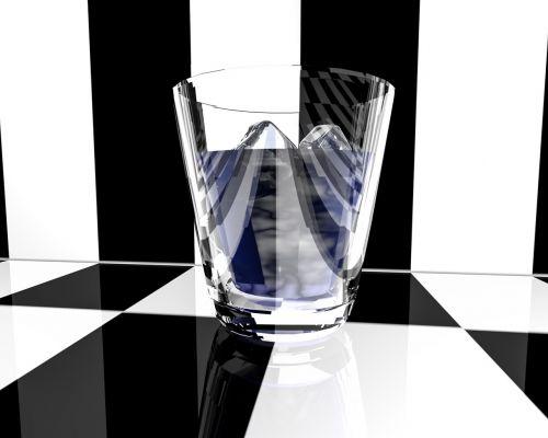 stiklas, gerti, alkoholis, šaltas, alkoholinis gėrimas, atsipalaidavimas, likeris, ledas, alkoholinis, gastronomija, ledo kubeliai, 3d renderavimas, be honoraro mokesčio