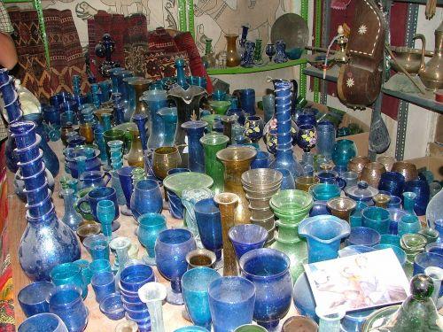 stiklas,mėlynas,švelnus,menas