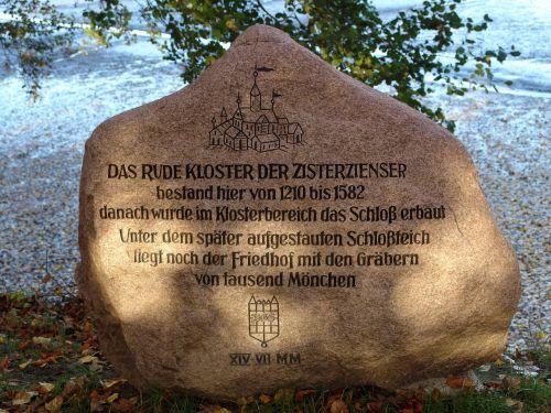 Glücksburg,akmuo,pastaba,informacija,pilis,ženklas,informacijos lentos