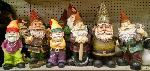 gnomai,elfai,sodas,dekoracijos,legenda,barzdotas,dekoratyvinis