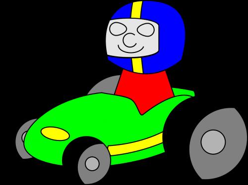 go-kart,Lenktyninis automobilis,kart,lenktynės,lenktynininkas,vairuotojas,Lenktyninio automobilio vairuotojas,Gocart,vaikščioti,Gokart,nemokama vektorinė grafika