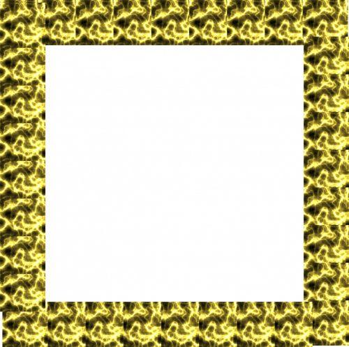 rėmas, kvadratas, auksas, senas, elektra, modelis, drožyba, barokas, ornate, paauksuotas, aukso rėmas