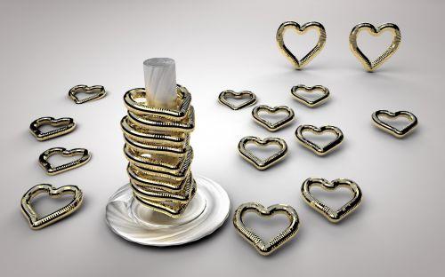 fonas, širdis, auksas, meilė, širdis, kūrybingas, auksinė & nbsp, širdis, romantika, aukso širdis