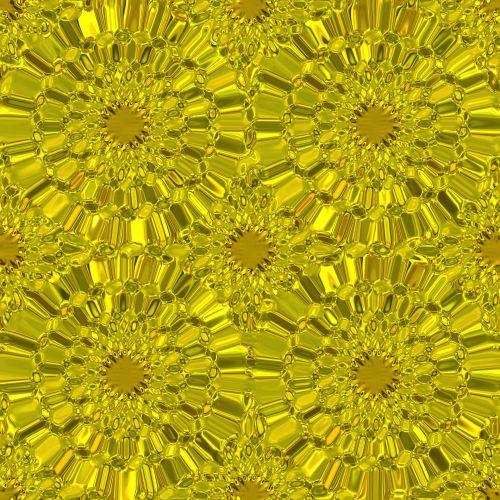 auksas, auksinis, ratas, ratai, tekstūra, gėlės, iliuzija, auksiniai ratai