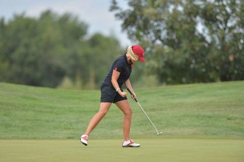 golfas,mergaitė,jėga,golfo žaidėjas,sportas