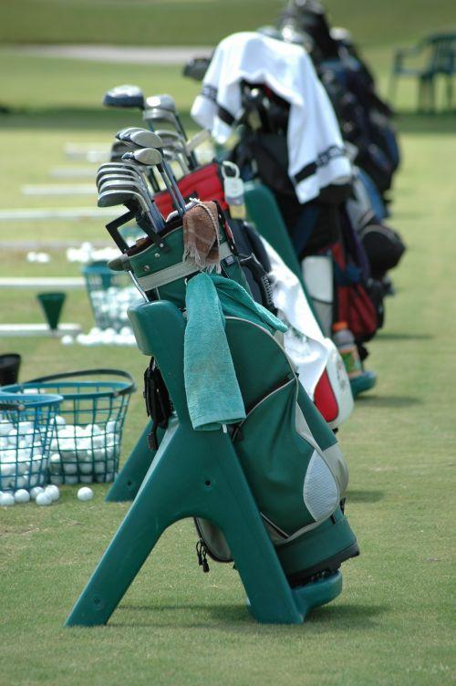 golfas & nbsp, krepšys, klubai, įranga, Sportas, žinoma, poilsis, laisvalaikis, hobis, golfo krepšys ir klubai