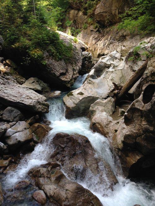 Gorge,vanduo,Clam,kraštovaizdis