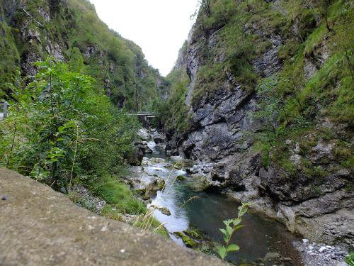 Gorge,upė,kraštovaizdis,Taleggio tarpeklis