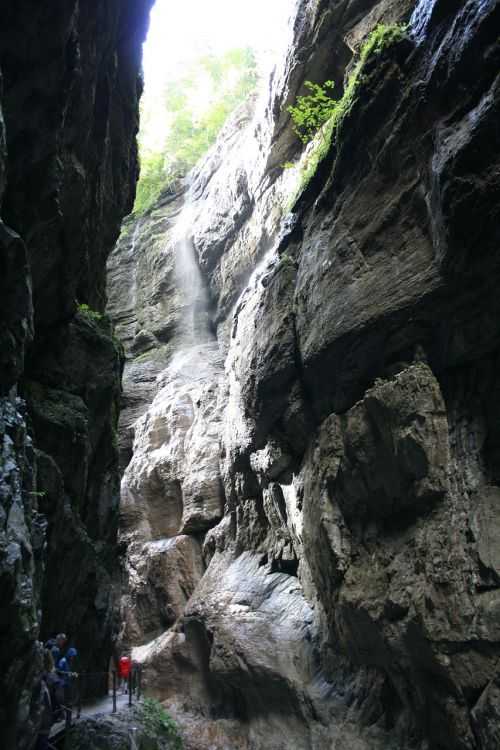 Gorge,vanduo,šviesa,Clam