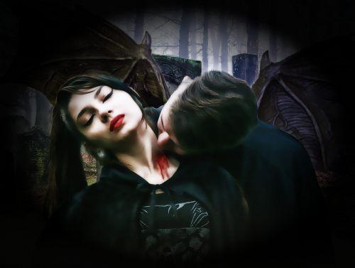gotika,fantazija,tamsi,vampyrai,pora,mirtis,velnias,baugus,kraujas,viduramžių,portretas,paslaptis,mįslingas,vampyras moterys,vampyras vyrukas,nuraminti