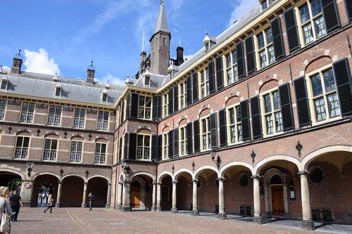 Vyriausybė, paminklas, kiemas, politika, namas, den-haag, vyriausybės pastato, gyvenamoji vieta, Pirmasis patalpa, įžymybės