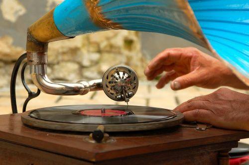 gramofonas,įrašyti,muzika,įrankis