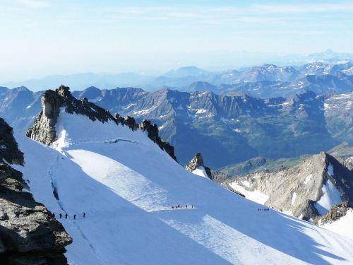 Gran paradiso,kalnas,sniegas,žygiai,žiema,Alpės,gamta,aukščiausiojo lygio susitikimas,alpinizmas,nuotykis,kraštovaizdis,ledo nuotykis,širdis