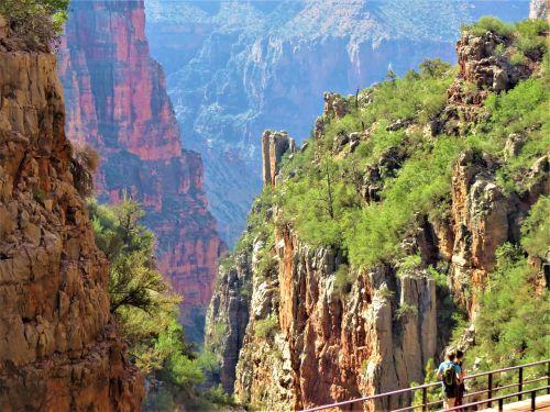 Didysis kanjonas,tiltas,Gorge,dramatiškas,kraštovaizdis