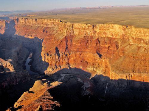 Didysis Kanjonas, Arizona, Usa, Oro Vaizdas, Raudonas Kanjonas, Kraštovaizdis