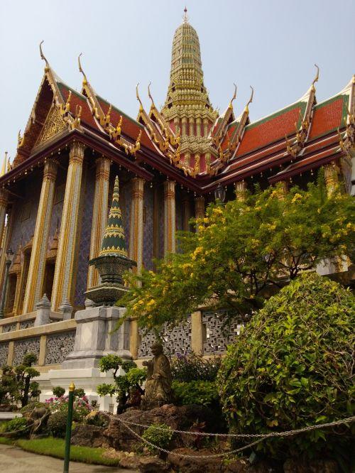 didysis & nbsp, rūmai, Tailandas, pastatas, Grand Palace Bangkok Tailandas