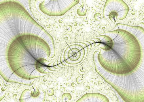 grafika,fraktalas,eddy,burbulas,lapai,žalias