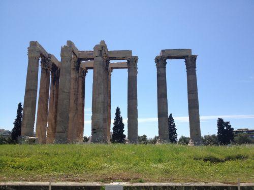 Graikija,Atėnas,stulpeliai,graikų stulpeliai