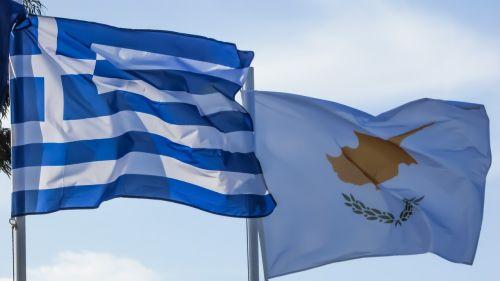 Graikija,Kipras,tautybė,tauta,vėliavos,plaukiojantys