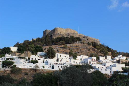 Graikija,Rodo sala,vasara,kraštovaizdis