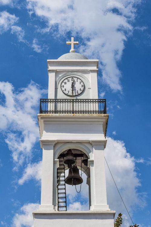 Graikija,magnezija,milies,varpinė,bažnyčia,religija,architektūra,ortodoksas,krikščionybė,balta,dangus,debesys