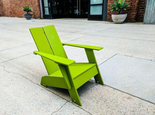 žalias,lauko kėdė,baldai,dizainas,sėdėti