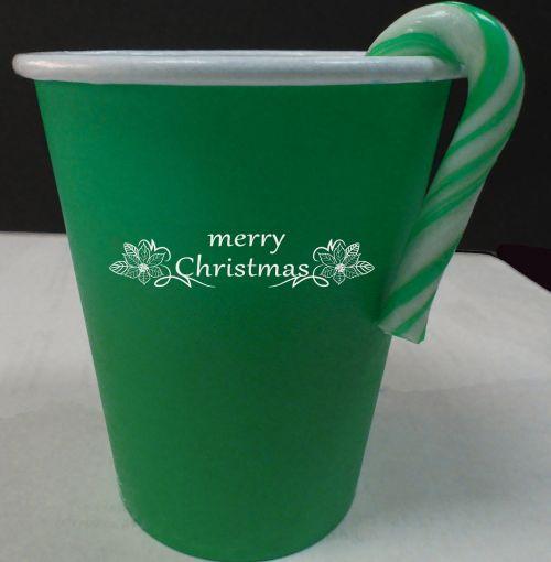 Kalėdos, žalias, popierius & nbsp, puodelis, xmas, gėrimas, vakarėlis, šventė, atostogos, gerti, žalia Kalėdų puodelis # 2