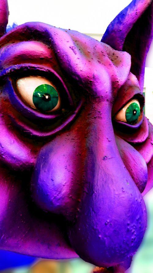 pavydas, žalias akimis, monstras, žalias, akys, vertikalus, Iš arti, izoliuotas, pavydus, žalia akimis monstras
