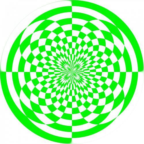 žalias, šaškių lentelė, modelis, viduje, out, žalia viduje