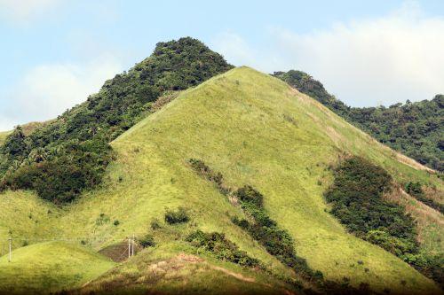 kalnas, žalias kalnas, debesys, gamta, miškas, medžiai, lapai, žalias, aukštas & nbsp, kalnas, didelis & nbsp, kalnas, žalias kalnas