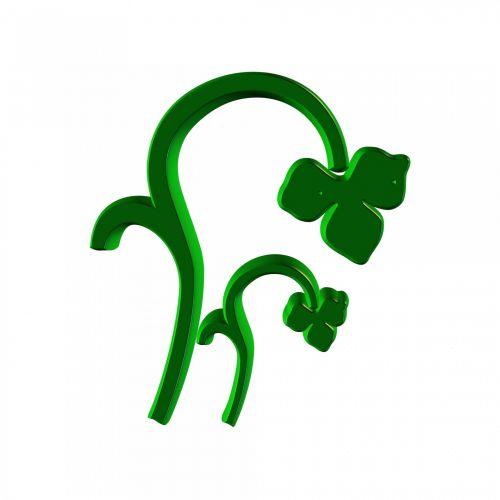 gėlių, žalias, simbolis, ornamentas, piešimas, rėmas, žalia simbolis