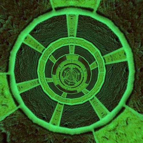 tapetai, koncentrinis, žalias, ratai, abstraktus, tekstūra, modelis, fonas, žali ratai