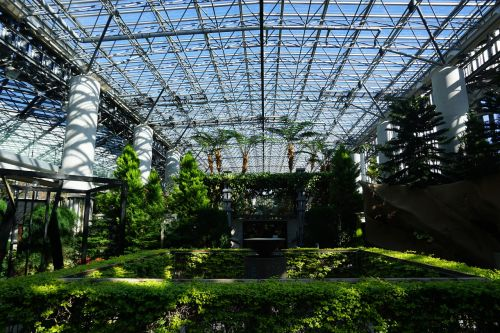šiltnamyje,sodas,botanika,architektūra
