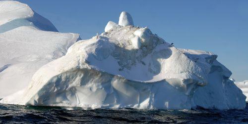 Grenlandija, Ledkalnis, Ledas, Sniegas