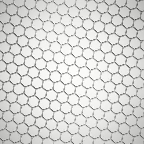 pilka, pilka, hex, modelis, tapetai, šešiakampis, korio rupiniai, fonas, pilka hex