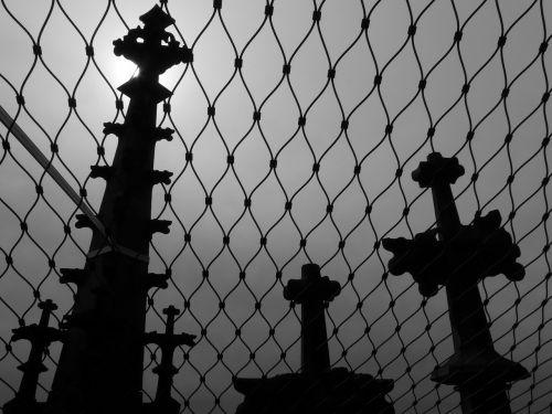 tinklelis,bokštai,kapai,kapinės,kryžiai,niūrus,tamsi,trueb
