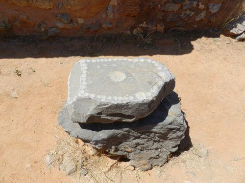 Graikija, heraklionas, akmuo, simboliai, graviūrų, archeologiniai, muziejus, lauke, Graikija 13