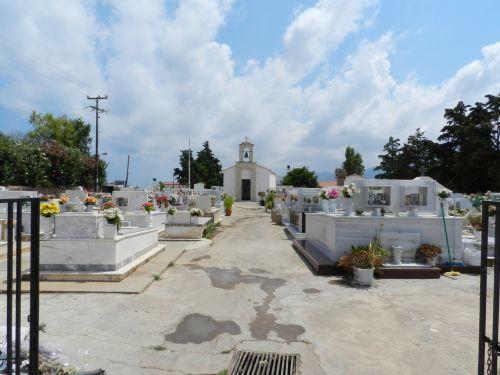 Graikija, heraklionas, kapinės, poilsio, vieta, Graikija 14