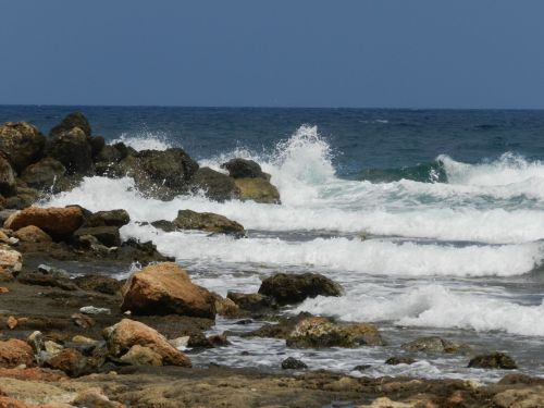 Graikija, heraklionas, vandenynas, papludimys, atostogos, Graikija 19