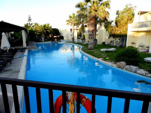 Graikija, heraklionas, baseinas, dusk, dusk, tylus, tylus, stresas, palengvėjimas, tuščia, privačiai, Graikija 29