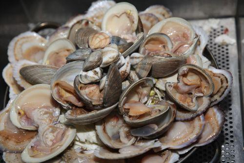 kepti kiaukutiniai,clam,lelija