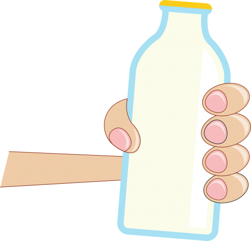 bakalėja,bakalėja,pienas,pieno butelis,patraukti,ranka,maistas,produktas,pieno,gerti,apsipirkimas,prekybos centras,karvė,pusryčiai,nemokama vektorinė grafika
